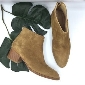 Rag and Bone Suede Wesley Ankle Boots Brown 8.5